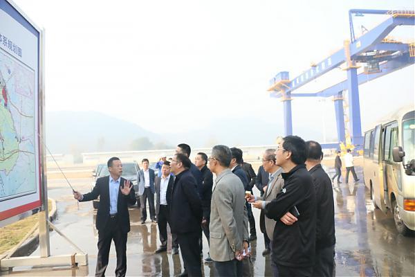 国家发改委副司长童章舜、湖北省副省长周先旺先后来黄石纬来体育在线直播nba火箭调研